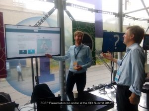Hannes demoed our Live-Demo ECEP