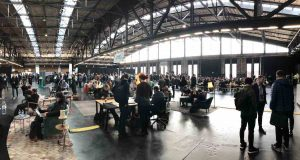 TechCrunch Disrupt exhibition hall
